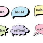 過去分詞の意味と使い方